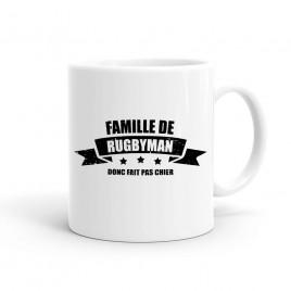 Mug Rugby Famille de rugbyman
