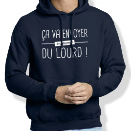 Sweat Capuche Rugby DU LOURD homme
