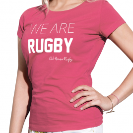 Tshirt Rugby WE ARE femme