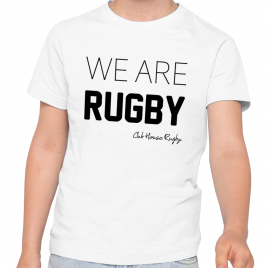 Tshirt Rugby WE ARE Enfant
