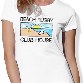 Tshirt Rugby BEACH RUGBY femme
