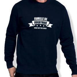 Sweat Rugby FAMILLE DE RUGBYMAN homme