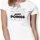Tshirt Rugby LES POINGS femme