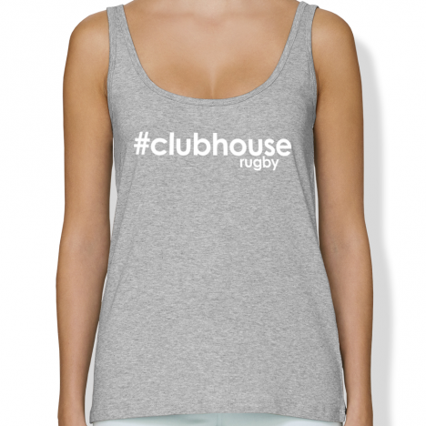 Débardeur Rugby HASHTAG CLUBHOUSERUGBY femme