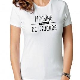 Tshirt Rugby MACHINE DE GUERRE femme