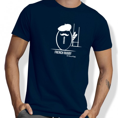 Tshirt Rugby FRENCH RUGBY homme