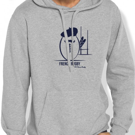 Sweat Capuche Rugby FRENCH RUGBY homme