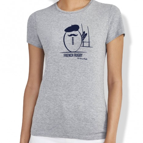 Tshirt Rugby FRENCH RUGBY femme