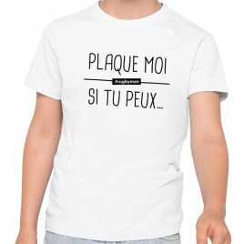 Tshirt Rugby PLAQUE MOI enfant
