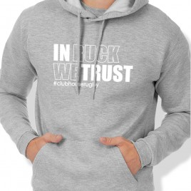 Sweat Capuche Rugby IN RUCK WE TRUST homme