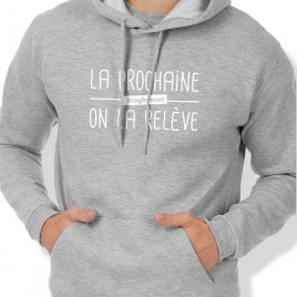 Sweat Capuche Rugby ON LA RELÈVE homme