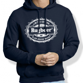 Sweat Capuche Rugby RUGBEER homme
