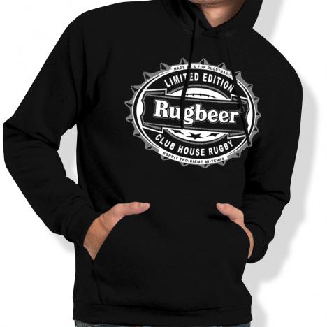Sweat Capuche Rugby Rugbeer capsule
