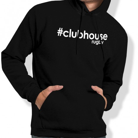 Sweat Capuche Rugby Hashtag clubhouserugby