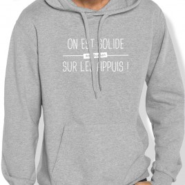 Sweat Capuche Rugby Solide