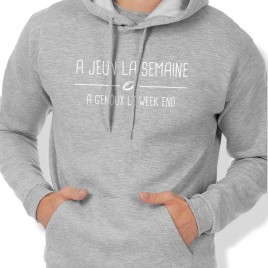 Sweat Capuche Rugby A JEUN homme