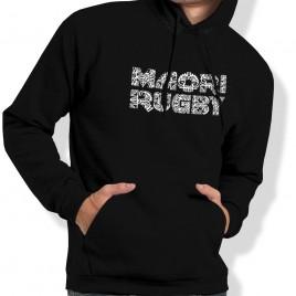 Sweat Capuche Rugby MAORI homme