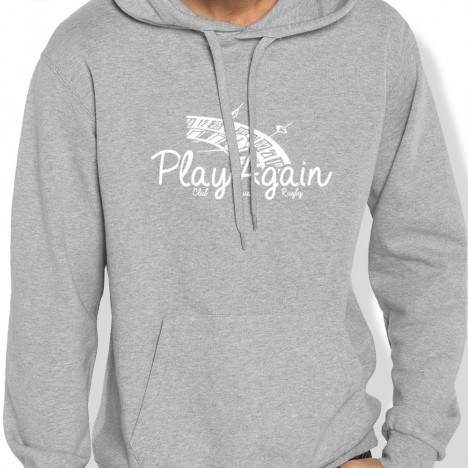Sweat Capuche Rugby ROULETTE PLAYAGAIN homme