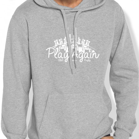 Sweat Capuche Rugby ECHIQUIER PLAYAGAIN homme