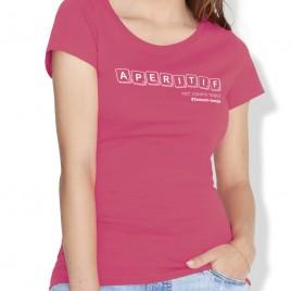 Tshirt Rugby APERITIF femme
