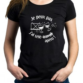 Tshirt Rugby TELEAPERO femme