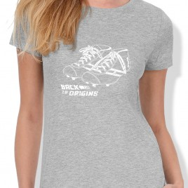 Tshirt Rugby BACK TO ORIGIN femme