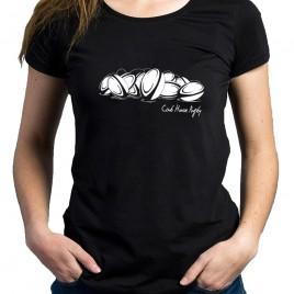 Tshirt Rugby BALLON femme
