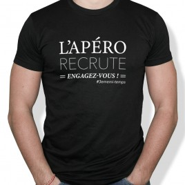 Tshirt Rugby L'APERO homme