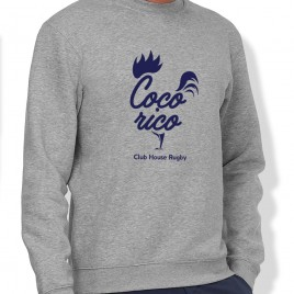 Sweat Rugby COQ'ORICO homme