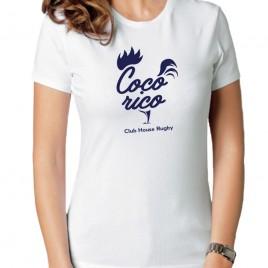 Tshirt Rugby COQ'ORICO femme