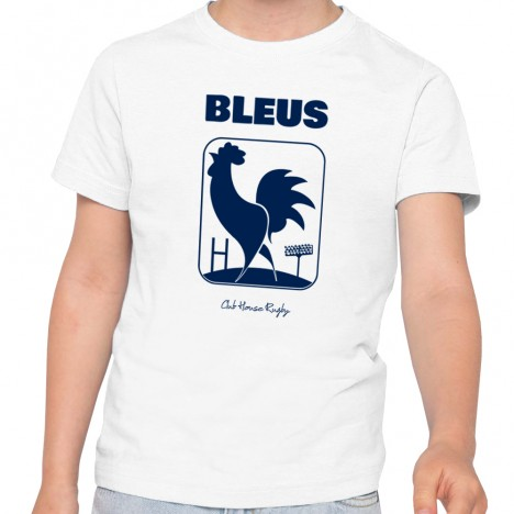 Tshirt Rugby BLEUS enfant