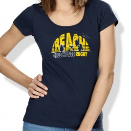 Tshirt Rugby SUNSET femme