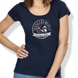 Tshirt Rugby SUPPORTER femme