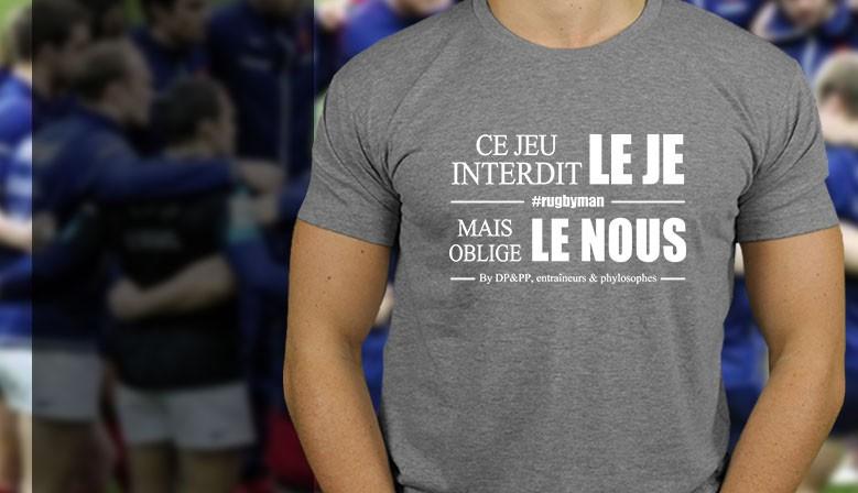 Tshirt Le Je le Nous